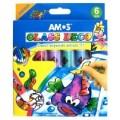 Farby witrażowe  Amos  6 kol